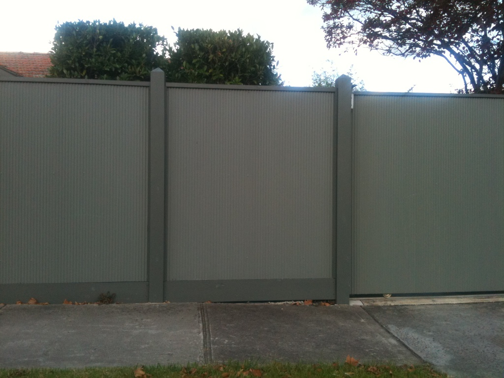 Colorbond Fencing Melbourne Colorbond Steel Fencing