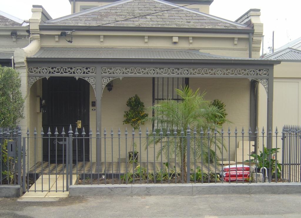 Traditional Front Fence